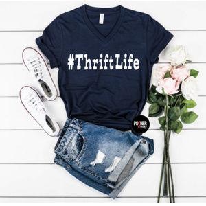 0780923e07373 Thrifting Posher Graphic Tee Shirt